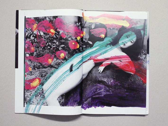 Shikiin, Nobuyoshi Araki. Published by eyescencia, 128 pgs, 36.5 x 22.5 cm, hardcover. Images Source: Antenne Books.