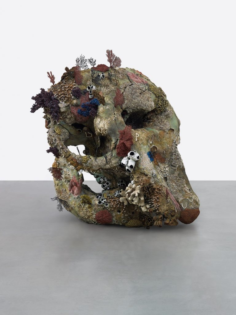 Damien Hirst, 'Skull of a Cyclops',  《Treasures from the Wreck of the Unbelievable》. Photographed by Prudence Cuming Associates © Damien Hirst and Science Ltd. All rights reserved, DACS 2017.