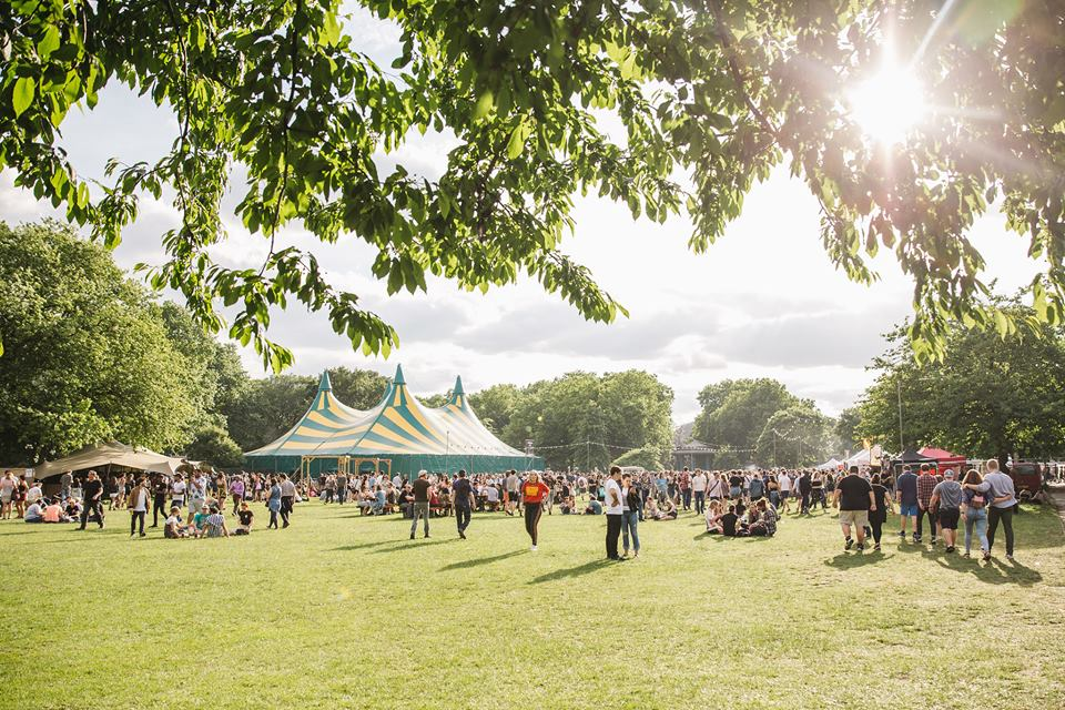Field Day 2017. Photograph © Samantha Milligan. Image Source: Field Day Festival Facebook.