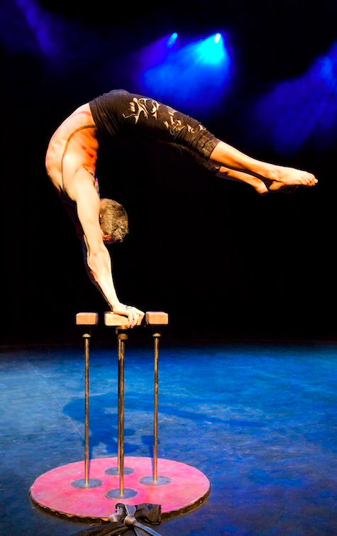 'Narcissus' by Square Peg Contemporary Circus. Photography/ Anna Batchelor. Image Source: Square Peg Contemporary Circus.