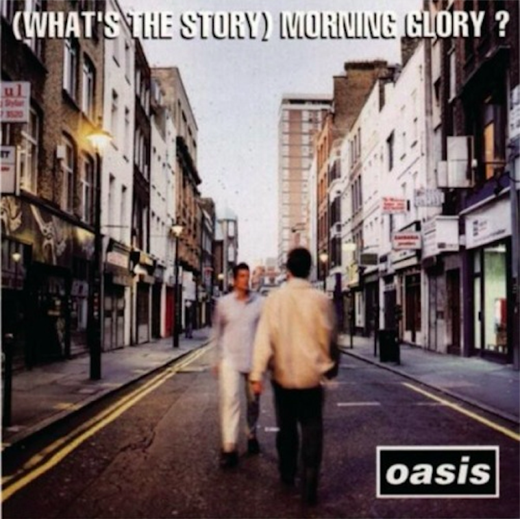 《(What's the Story) Morning Glory?》, Oasis, 1995. Image Source: ALL MUSIC.