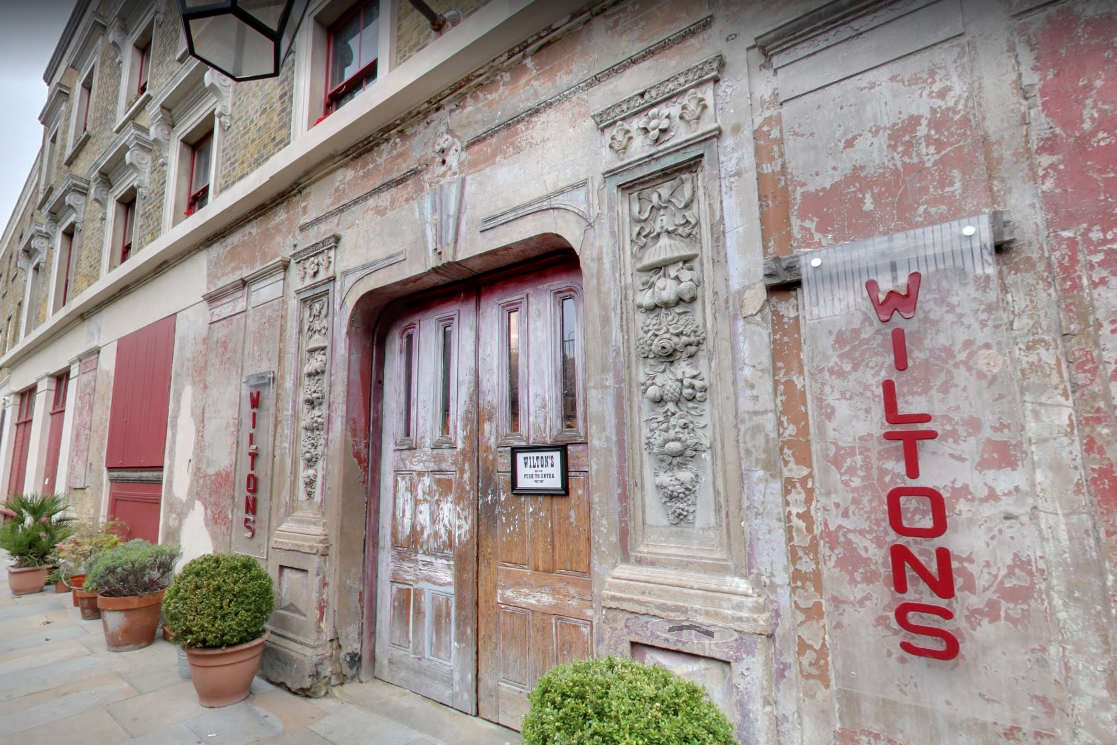 Wilton's Music Hall. Image Source: Google Street View.