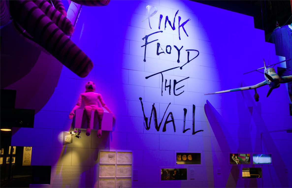 Their Mortal Remains: Pink Floyd. Image Courtesy of V&A Museum.