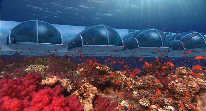 重回大海的冰涼懷抱 The Poseidon Underwater Resort 斐濟海底渡假村