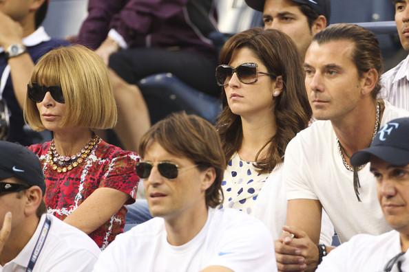 Anna+Wintour+Mirka+Federer+Bar+Refaeli+Open+xNpZL6H84aTl