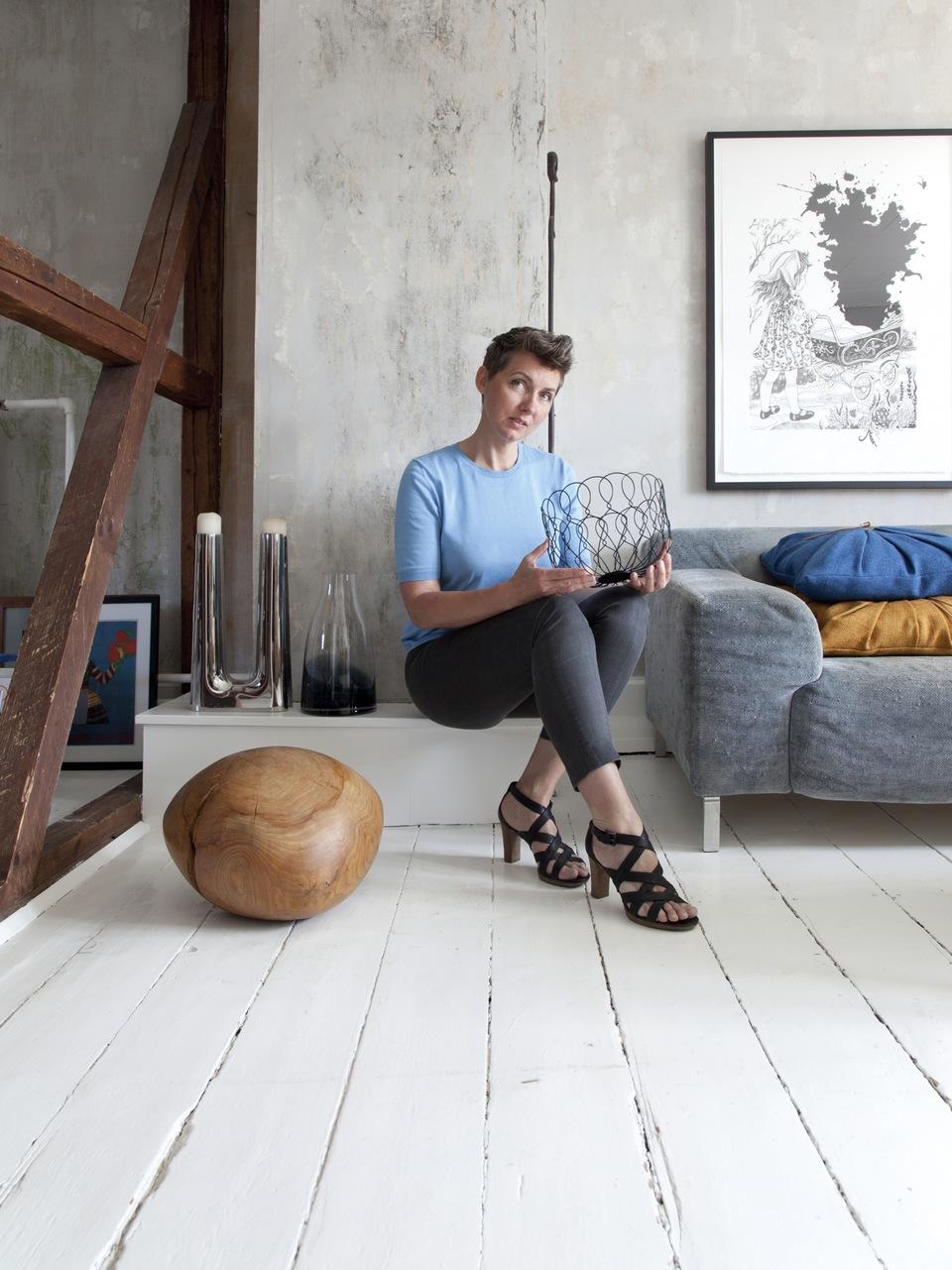 走進設計師的小角落:一窺工業設計師 Rebecca Uth 的哥本哈根公寓