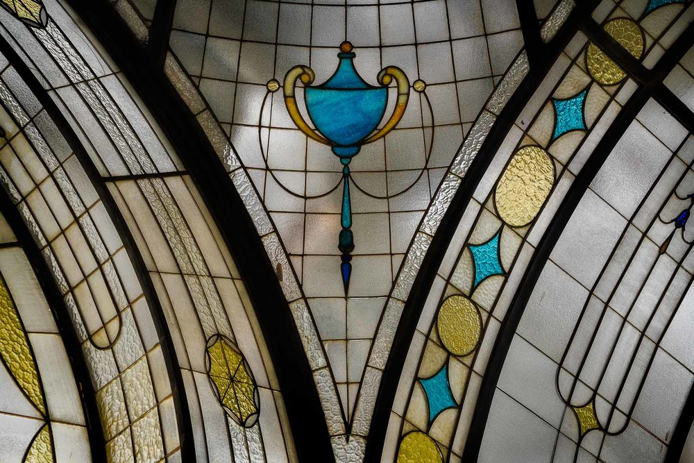 A lovely detail from the recently restored ground floor arcade at the Nicholas Building, Swanston Street, Melbourne.