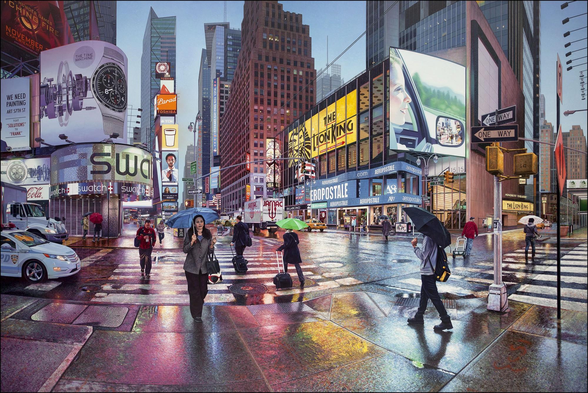城市就是我的畫布:英國現實主義畫家 Nathan Walsh