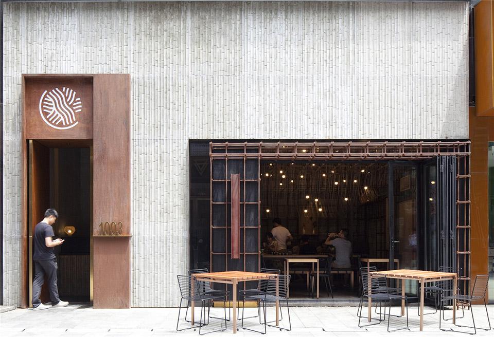 在晾麵架下吃碗麵:長沙隆小寶麵食館