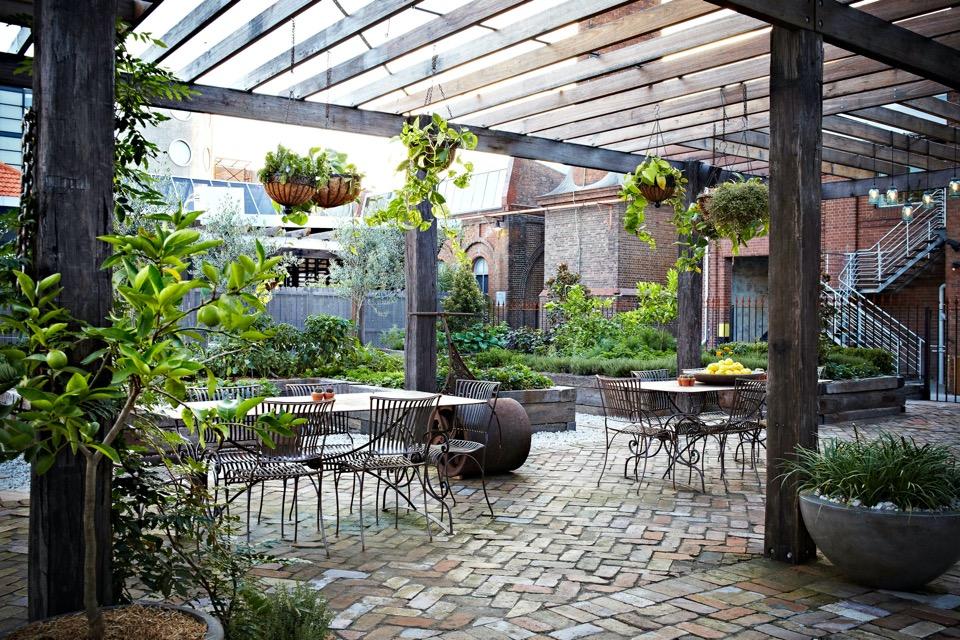 城市裡的一抹綠意:THE GROUNDS OF ALEXANDRIA 田園餐廳