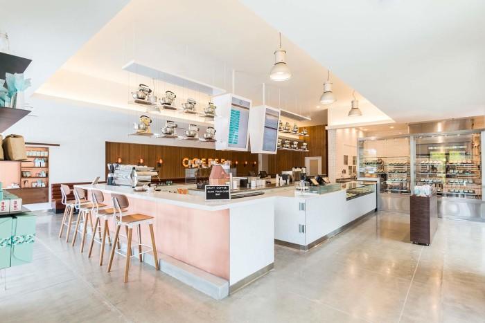 德州復古咖啡館 CRAVE:粉嫩色彩打造的懷舊滋味