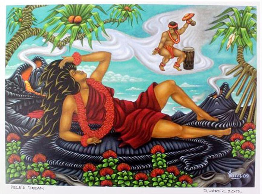 Art Print - Pele's Dream by Dietrich Varez
