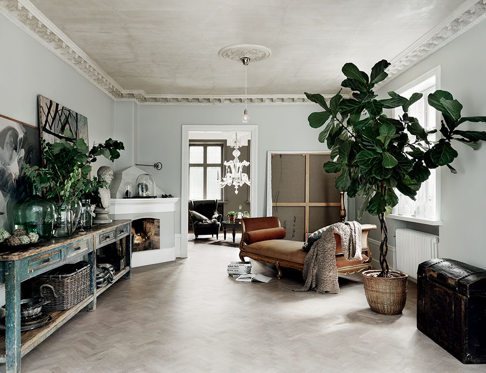 工業粗獷 + 北歐簡潔:室內設計師 Malin Persson 的瑞典住家