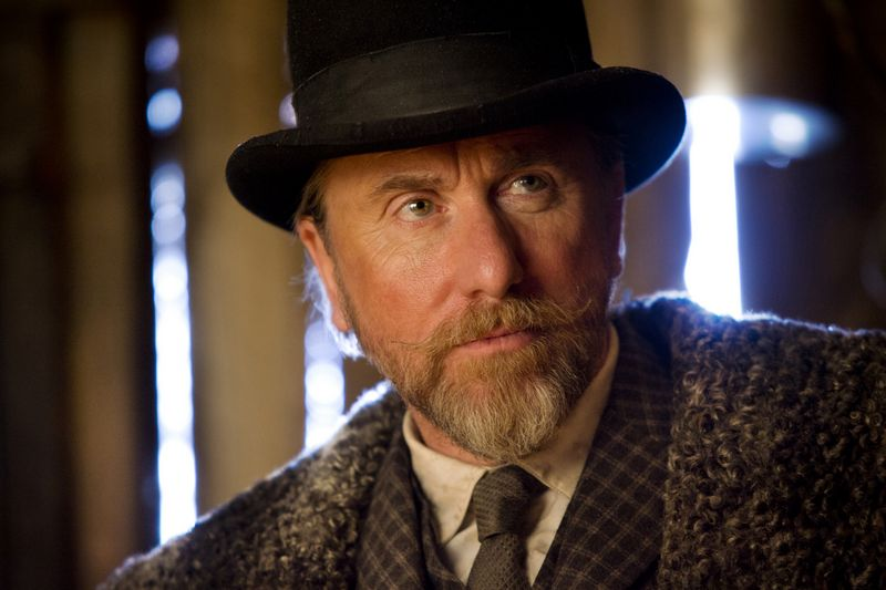 TIM ROTH stars in THE HATEFUL EIGHT. Photo: Andrew Cooper, SMPSP © 2015 The Weinstein Company. All Rights Reserved.