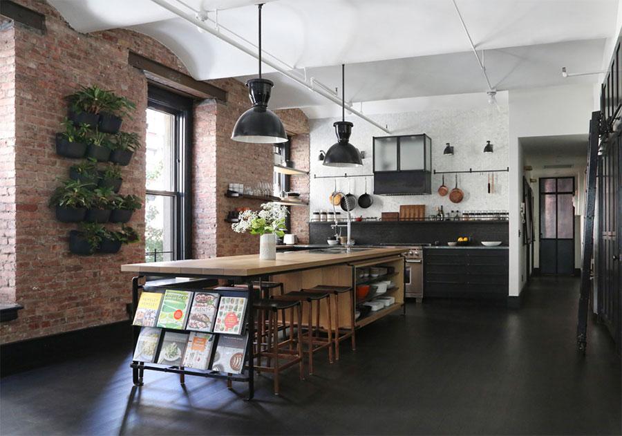 獨愛工業原始況味,紐約 Loft 個性住宅