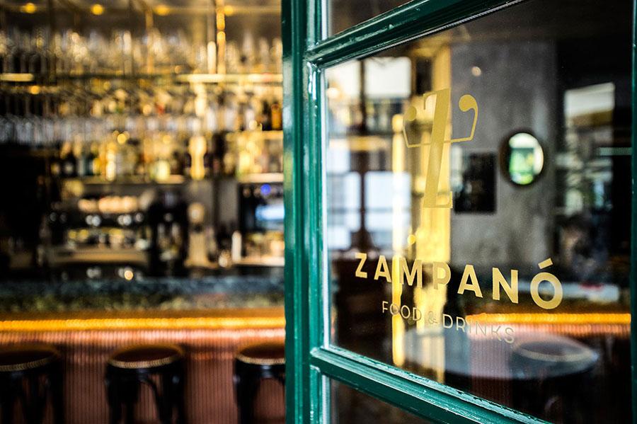 染上義式浪漫光影的希臘滋味:雅典小酒館 Zampanó Greek Bistro & Wine Bar