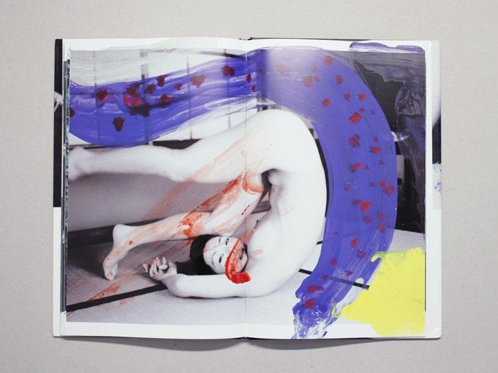 Shikiin, Nobuyoshi Araki. Published by eyescencia, 128 pgs, 36.5 x 22.5 cm, hardcover. Images Source: Antenne Books.