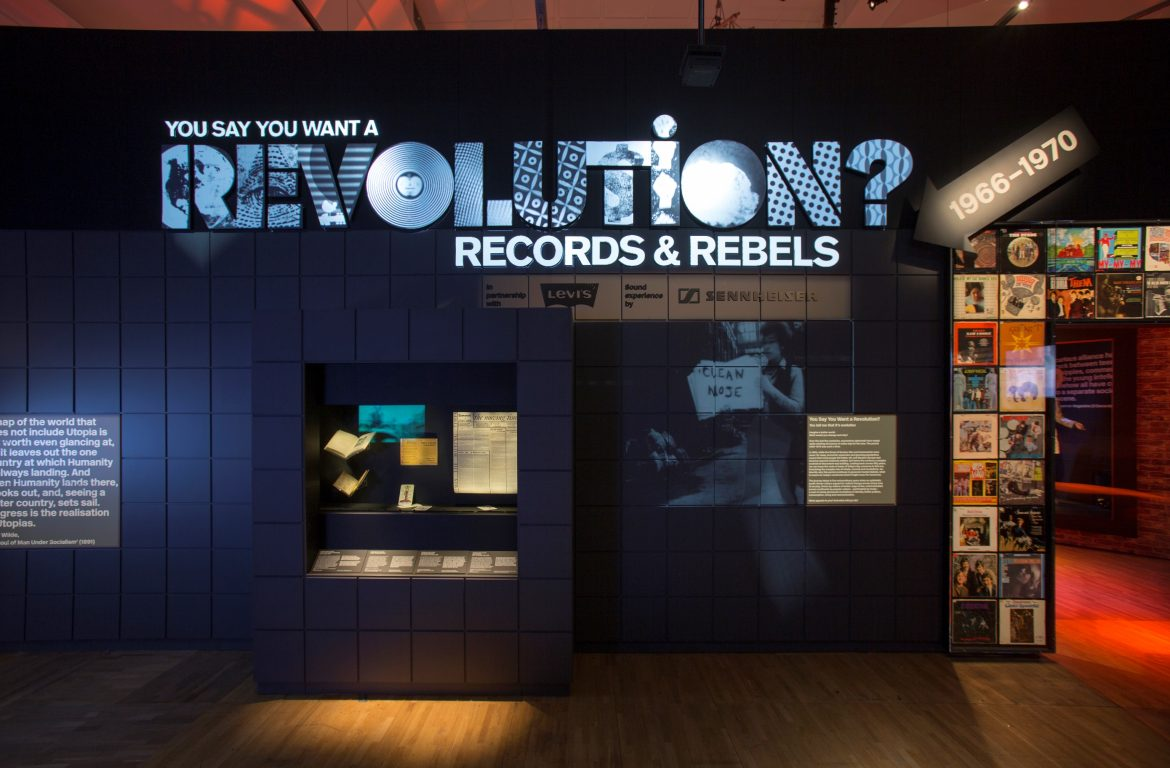 You Say You Want a Revolution: Rebels and Records 1966-1970. Image Courtesy of V&A Museum