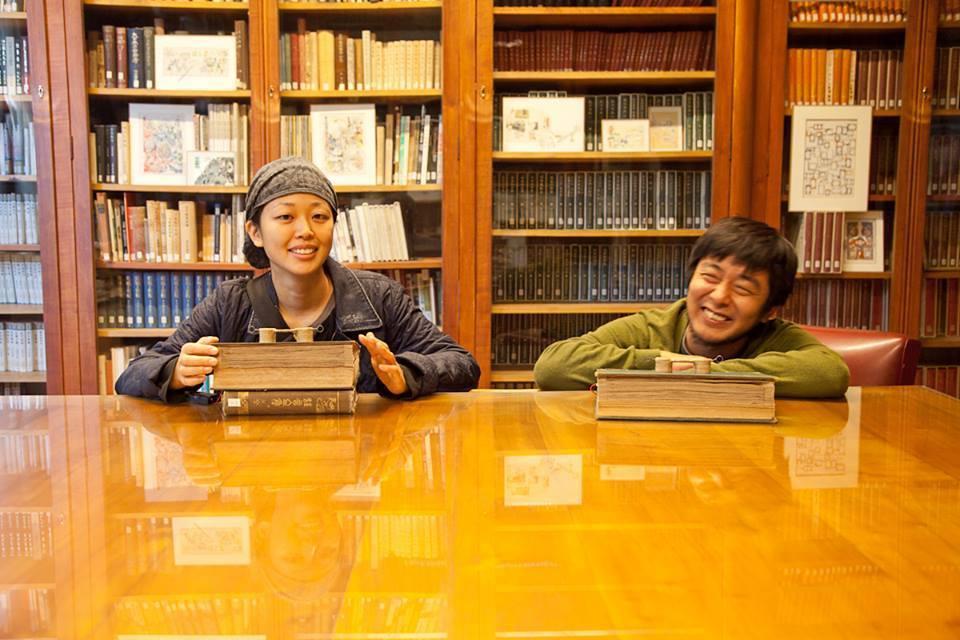 片岡純也與岩竹理恵。Image Courtesy of Junya Kataoka & Rie Iwatake.