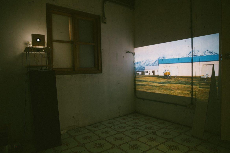 《潛藏的星座》展覽,寶藏巖上光巷 59 弄 9 號展間,2016 年。Image Courtesy of Junya Kataoka & Rie Iwatake.
