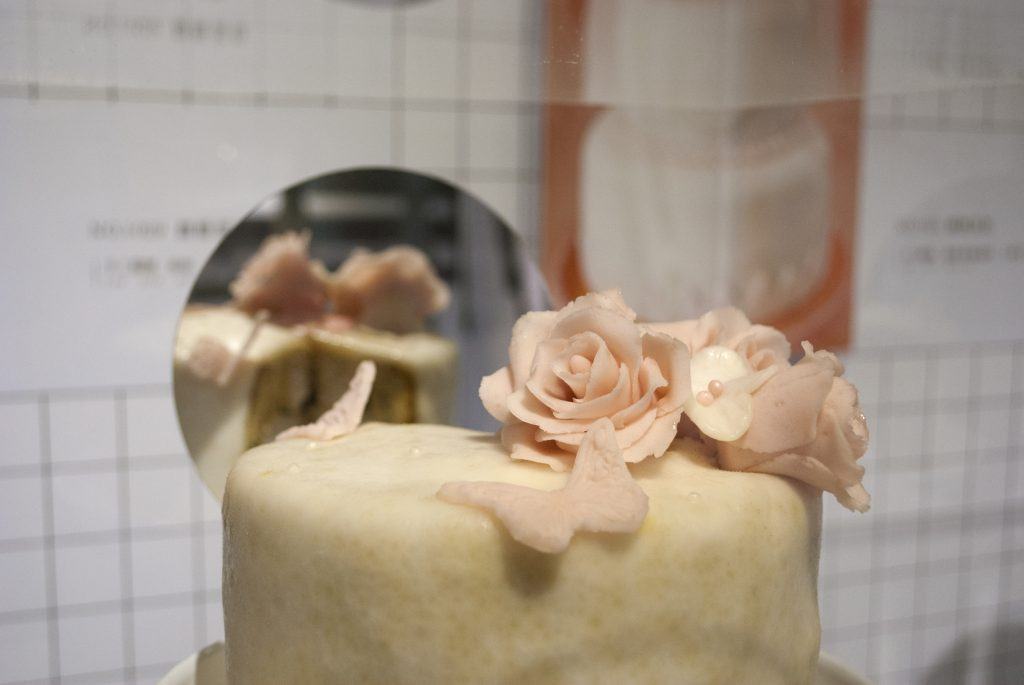 《翻糖蛋糕》。Image Courtesy of San Chen.