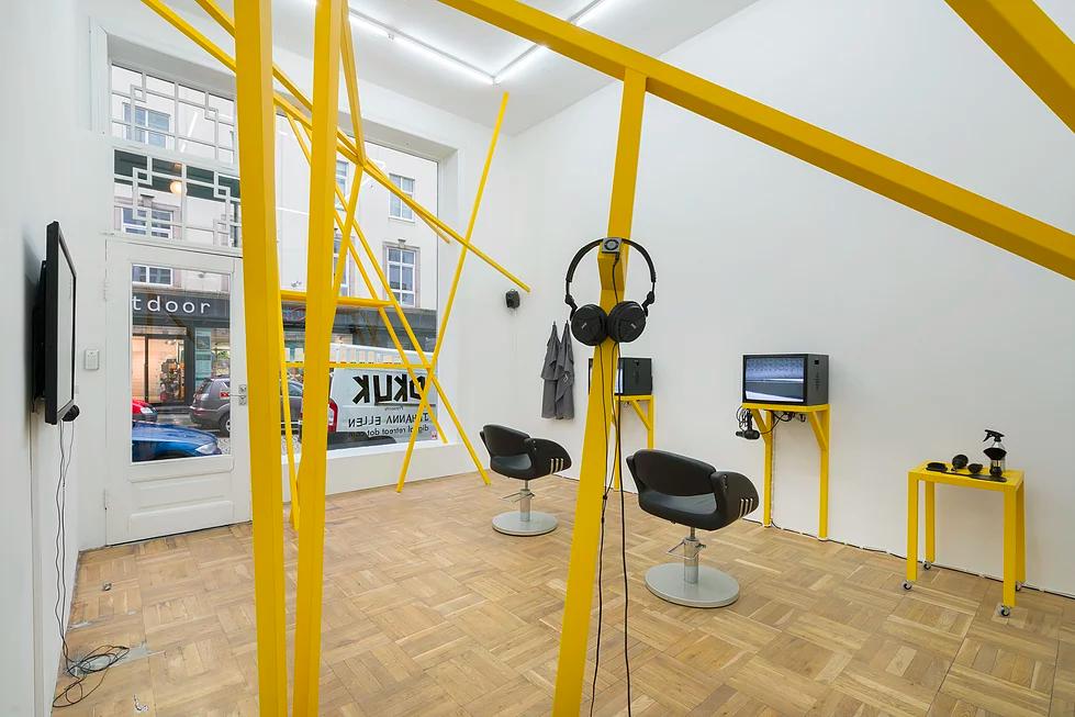 《DKUK Presents Jóhanna Ellen: Digital Retreat Dot Com》, curated by Lars Sture, 2016. Image Source: Jóhanna Ellen.