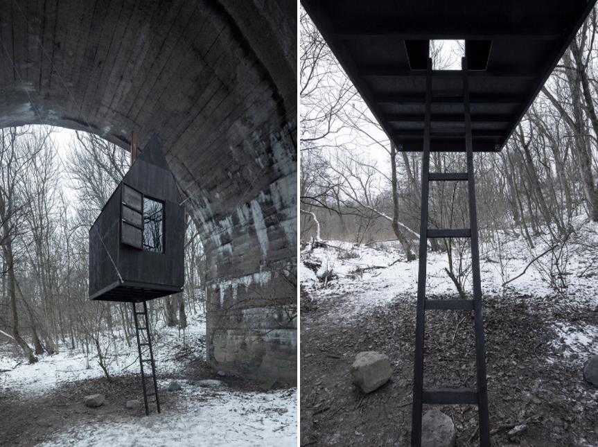 Black flying house_02