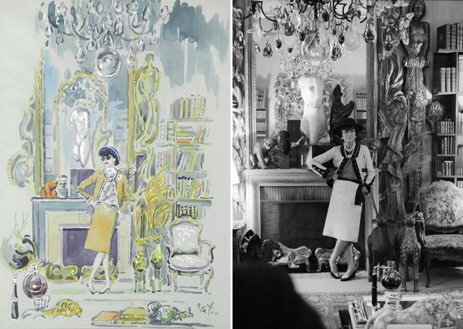 Gabrielle Chanel & Les Blés de Chanel_00